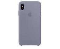 Apple iPhone XS Max Silicone Case Lavender Gray - 449603 - zdjęcie 3