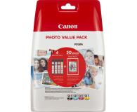 Canon CLI-581 zestaw Photo 4 tuszów CMYK XL - 446995 - zdjęcie 1