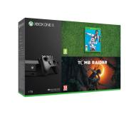 Microsoft Xbox One X 1TB + SOTTR + FIFA19 - 451696 - zdjęcie 1