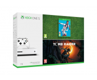 Microsoft Xbox ONE S 1TB+ SOTTR + FIFA19 - 451700 - zdjęcie 1