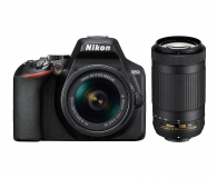 Nikon D3500 + AF-P 18-55 VR + AF-P DX 70-300 VR - 447711 - zdjęcie 6