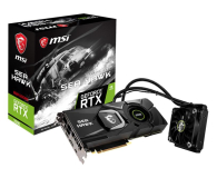Karta graficzna NVIDIA MSI GeForce RTX 2080 SEA HAWK X 8GB GDDR6