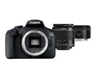 Canon EOS 2000D 18-55mm IS + 50mm f/1,8S - 449583 - zdjęcie 1