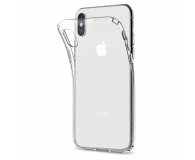 Spigen Liquid Crystal do iPhone XS Clear - 452007 - zdjęcie 3