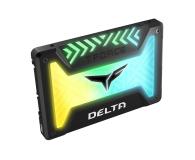 """Team Group 250GB 2,5"""" SATA SSD T-Force Delta RGB Black - 474613 - zdjęcie 3"""