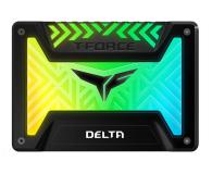 """Team Group 250GB 2,5"""" SATA SSD T-Force Delta RGB Black - 474613 - zdjęcie 1"""