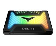"""Team Group 250GB 2,5"""" SATA SSD T-Force Delta RGB Black - 474613 - zdjęcie 2"""
