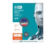 Eset  Security Pack 3PC + 3smartfony (36m.) kontyn. ESD - 410817 - zdjęcie 1