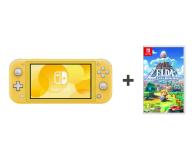 Nintendo Switch Lite (Żółty) + Zelda: Link's Awakening - 521188 - zdjęcie 1
