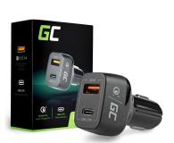 Green Cell Samochodowa USB-C, USB 3.0 (42W, PD, QC 3.0) - 521471 - zdjęcie 1