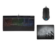 Corsair Gaming Bundle K55 RGB + M55 RGB Pro + MM300 Medium - 521269 - zdjęcie 1