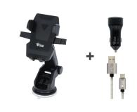 Silver Monkey Zestaw Uchwyt + Ładowarka + Kabel USB-C - 497333 - zdjęcie 1