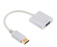 Gembird Adapter DisplayPort - VGA (Biały) - 518423 - zdjęcie 1