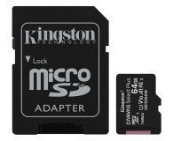 Kingston 64GB microSDXC Canvas Select Plus 100MB/s - 522794 - zdjęcie 1