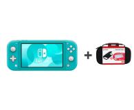 Nintendo Switch Lite (Morski) + Etui + Szkło - 520187 - zdjęcie 1