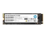 HP 512GB M.2 PCIe NVMe EX950 - 523892 - zdjęcie 1