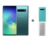 Samsung Galaxy S10 G973F Prism Green 512GB + ZESTAW - 493920 - zdjęcie 1