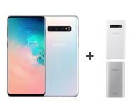 Samsung Galaxy S10 G973F Prism White 512GB + ZESTAW - 493919 - zdjęcie 1