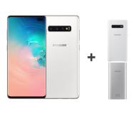 Samsung Galaxy S10+ G975F Ceramic White 1TB + ZESTAW - 493916 - zdjęcie 2