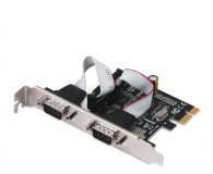 i-tec Karta rozszerzeń PCIe - 2x RS232 - 518548 - zdjęcie 1
