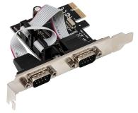 i-tec Karta rozszerzeń PCIe - 2x RS232 - 518548 - zdjęcie 2
