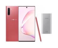 Samsung Galaxy Note 10 Aura Pink + PowerBank 10000mAh - 525529 - zdjęcie 1
