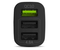 Green Cell Ładowarka Samochodowa 3xUSB Quick Charge 3.0 - 524698 - zdjęcie 2