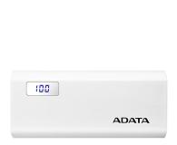 ADATA Power Bank P12500D 12500mAh 2A (biały) - 518794 - zdjęcie 1