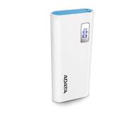 ADATA Power Bank P12500D 12500mAh 2A (biały) - 518794 - zdjęcie 2