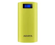 ADATA Power Bank P20000D 20000mAh 2.1A (żółty) - 518796 - zdjęcie 1