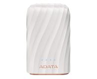 ADATA Power Bank AP10050C 10000mAh, USB-C, 2.4A (biały) - 518798 - zdjęcie 1