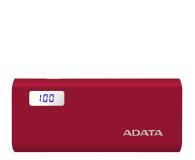 ADATA Power Bank P12500D 12500mAh 2A (czerwony) - 518804 - zdjęcie 1