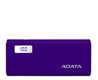 ADATA Power Bank P12500D 12500mAh 2A (fioletowy) - 518805 - zdjęcie 1