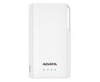 ADATA Power Bank S10000 10000mAh 2.1A (biały) - 518813 - zdjęcie 1