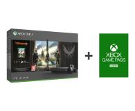 Microsoft Xbox One X 1TB + The Division 2 + Game Pass 3M - 526347 - zdjęcie 1
