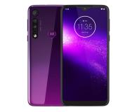 Motorola One Macro 4/64GB Dual SIM IPX2 Ultra Violet + etui - 527986 - zdjęcie 1