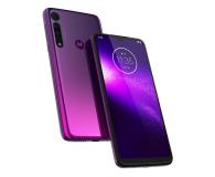 Motorola One Macro 4/64GB Dual SIM IPX2 Ultra Violet + etui - 527986 - zdjęcie 10