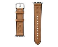 Spigen Pasek Skórzany Retro Fit do Apple Watch brązowy - 527315 - zdjęcie 2
