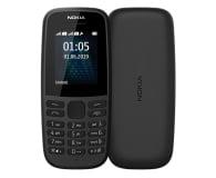 Nokia 105 2019 Dual SIM czarny - 529064 - zdjęcie 1
