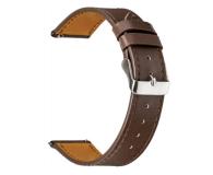 TOPP Pasek do smartwatcha Nylon Pleciony ciemno-brązowy - 528048 - zdjęcie 1