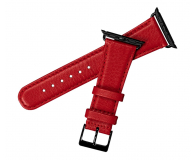 Sena Pasek Skórzany do Apple Watch czerwony - 528118 - zdjęcie 1