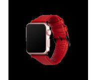 Sena Pasek Skórzany do Apple Watch czerwony - 528118 - zdjęcie 2