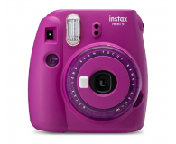 Fujifilm Instax Mini 9 purpurowy  - 529225 - zdjęcie 1