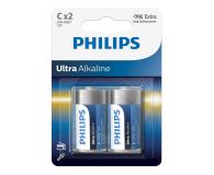 Philips Ultra Alkaline C (2szt) - 529285 - zdjęcie 1
