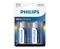 Philips Ultra Alkaline D (2szt) - 529286 - zdjęcie 1