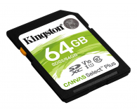 Kingston 64GB Canvas Select Plus odczyt 100MB/s - 529851 - zdjęcie 2