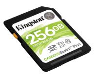 Kingston 256GB Canvas Select Plus odczyt 100MB/s - 529854 - zdjęcie 2