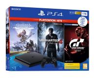 Sony PlayStation 4 Slim 1TB + HITS - 529889 - zdjęcie 1