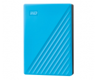 WD My Passport 4TB USB 3.0 Niebieski