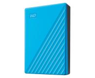 WD My Passport 4TB USB 3.0 Niebieski - 530408 - zdjęcie 2